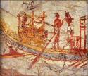 close-up-theran-fresco-boat