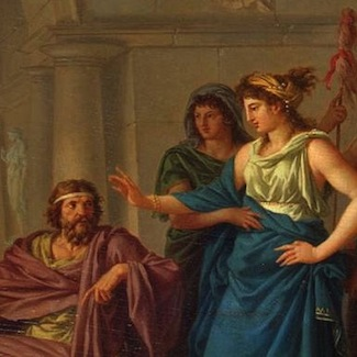 odysseus and telemachus essay Free essay: not until athena, disguised as mentes, shows up, convincing him odysseus is still alive and propelling him to sail out for his father's news does.