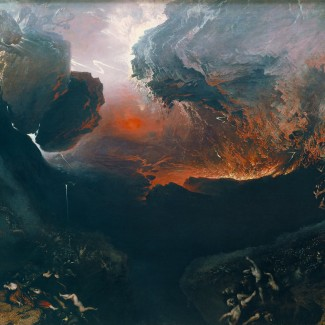 """""""The Great Day of His Wrath,"""" by John Martin (1789-1854), at the Tate Britain. Photograph in the public domain, via Wikimedia Commons."""