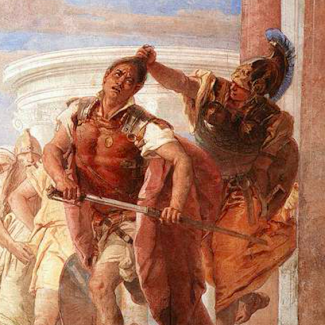 detail from The Rage of Achilles