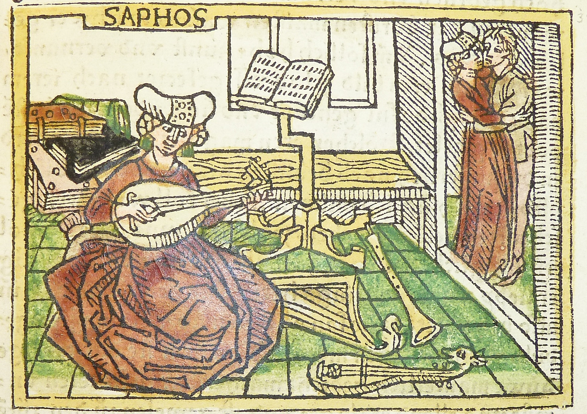 Sappho and aesop distinctions between diachronic and historical woodcut illustration from an incunable german translation by heinrich steinhwel of giovanni boccaccios de mulieribus claris fandeluxe Choice Image