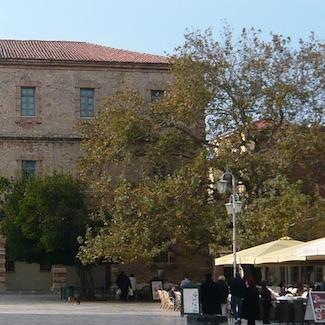 Plane tree, Syntagma Square, Nafplio. Image via Flickr (license).
