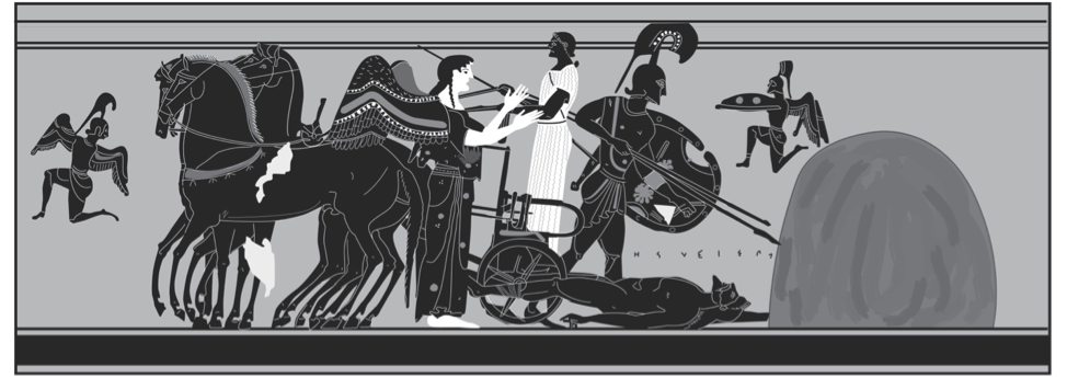 Figure 4. Lekythos: Delos, B 6137.546; Stähler no. 13.