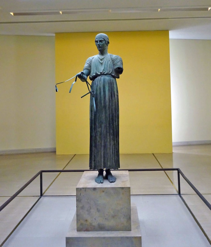 The Charioteer of Delphi. Photo by Sarah Scott.