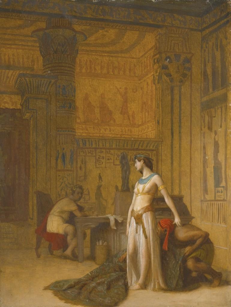 """César et Cléopâtre"" (before 1866). Jean-Léon Gérôme (French, 1824–1904)."