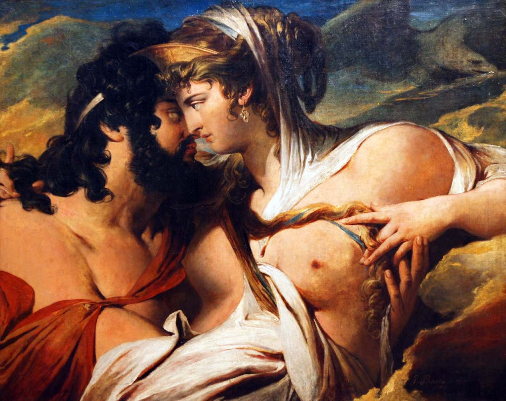 """Jupiter and Juno on Mount Ida"" (detail; 1790). James Barry (Irish, 1741–1806)."