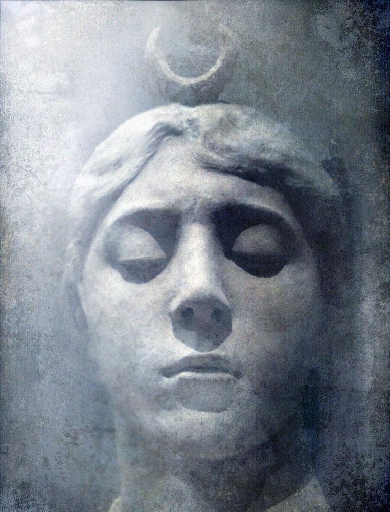 Bust of Diana/Artemis (ca. 1882). Jean-Joseph-Alexandre Falguière (1831–1900).