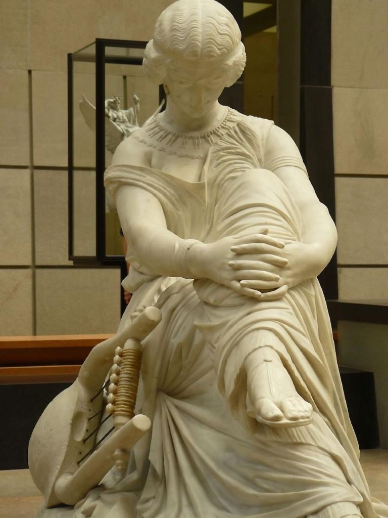 Sappho (1852). James Pradier (1790–1852).