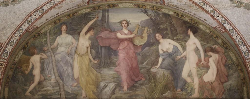 Lyric Poetry (1896). Henry O. Walker (1843–1929).