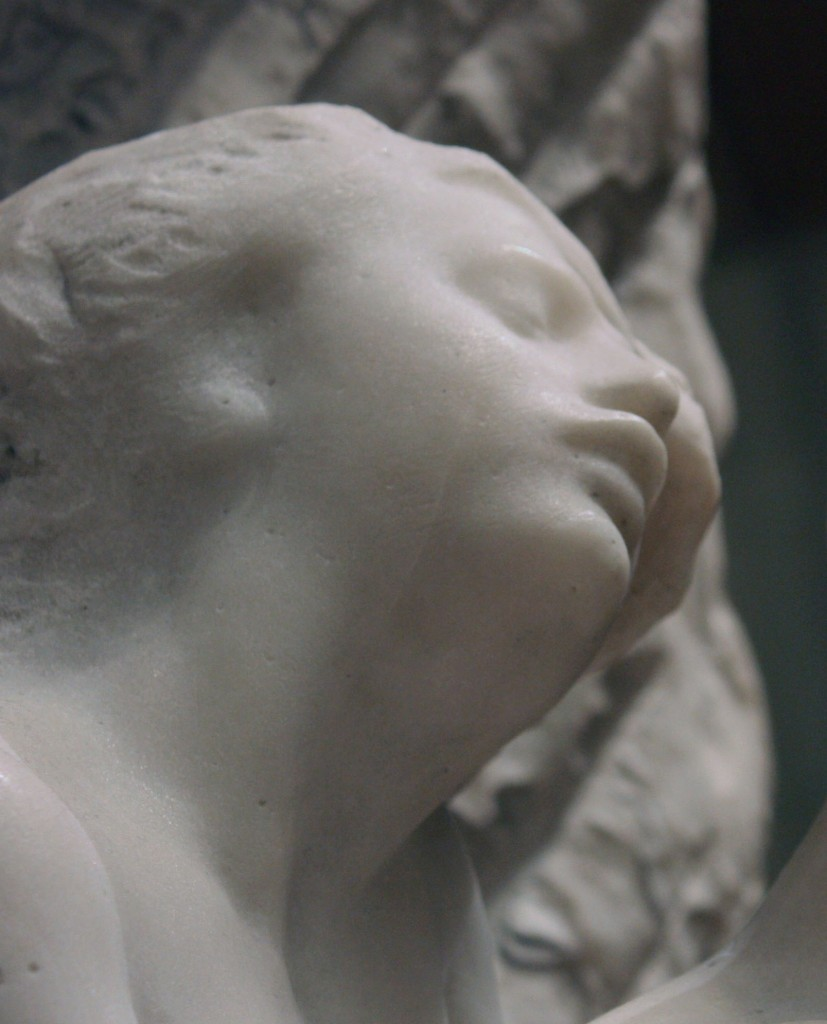 Detail of Orpheus and Eurydice (modeled before 1887, carved 1893). August Rodin (1840–1917).