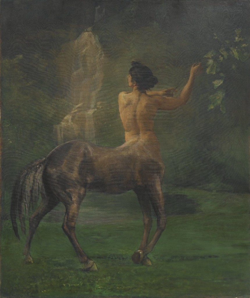 Centauress (ca. 1887). John La Farge (1835–1910).
