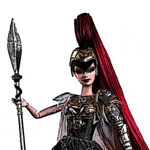 After Barbie as Athena (2010).