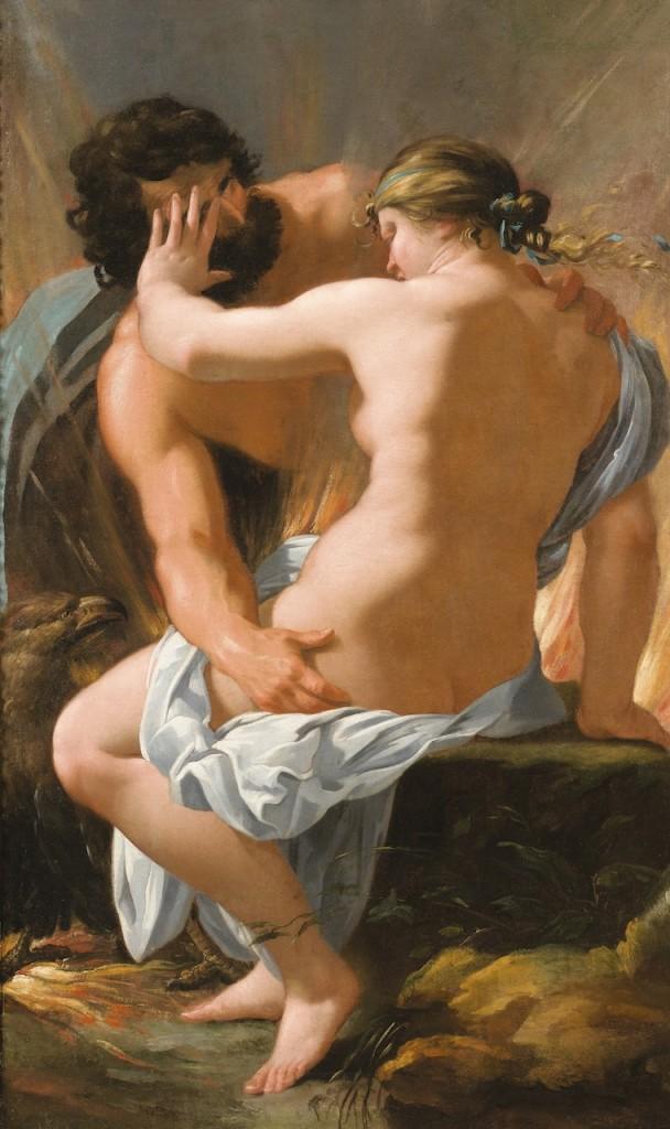 """Jupiter and Semele"" (n.d.). François Perrier (1594–1649)."