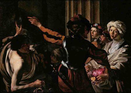 """""""Mistérios Eleusinos,"""" by Dirck van Baburen (1594–1624)."""