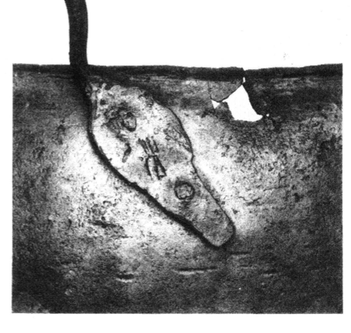 Figure 7 Inscribed handle of the cauldron