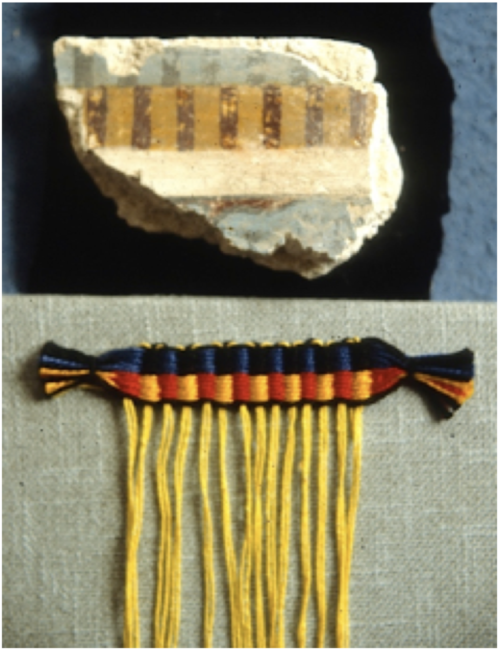 Figure 5 Typical Mycenaean edge-pattern