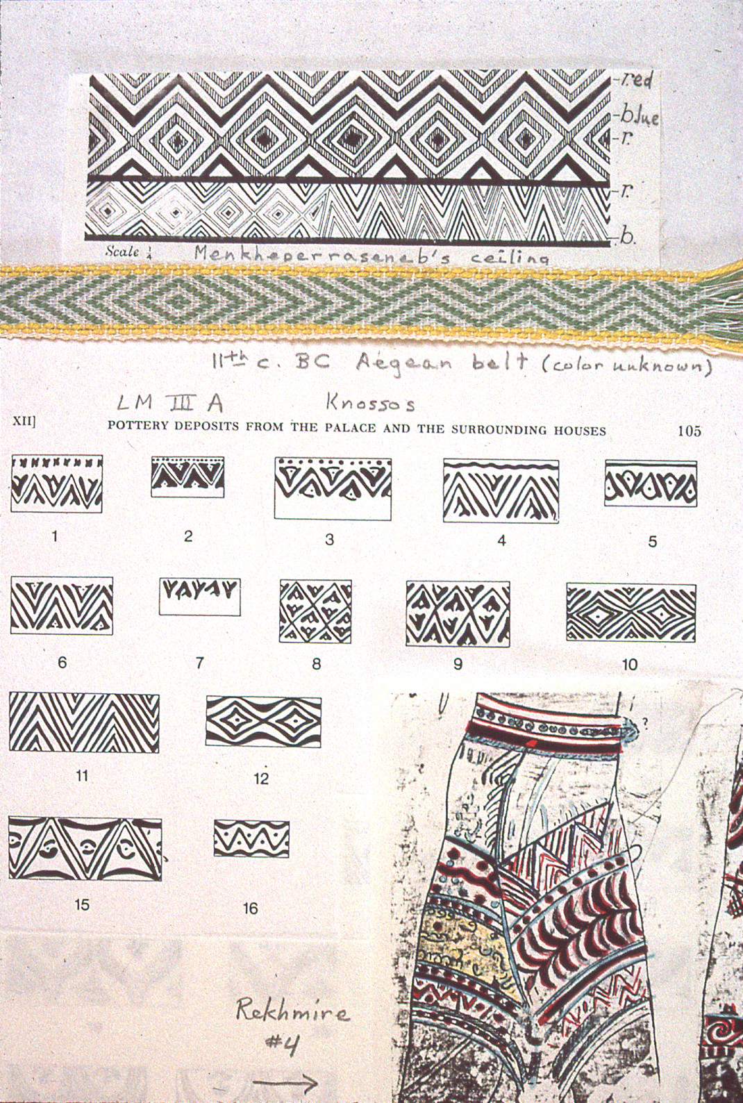 Figure 6 Late Bronze Age Aegean bands Worksheet
