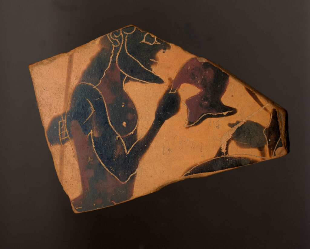 Achilles given his armor by Thetis